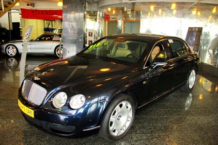 BENTLEY Continental Flying Spur ARMORED