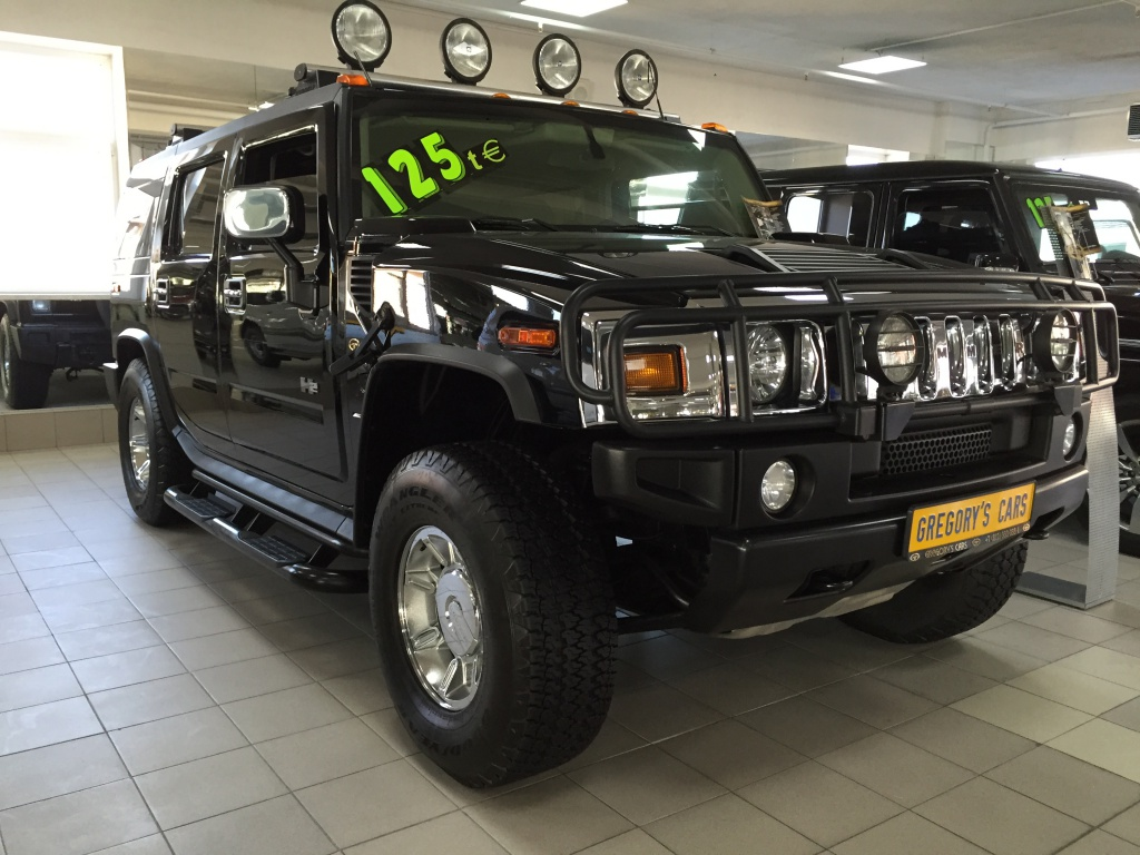 HUMMER H2 (armoured)